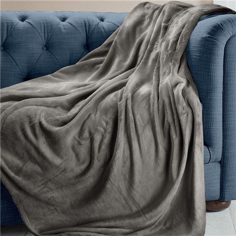 Grey Brogo Throw