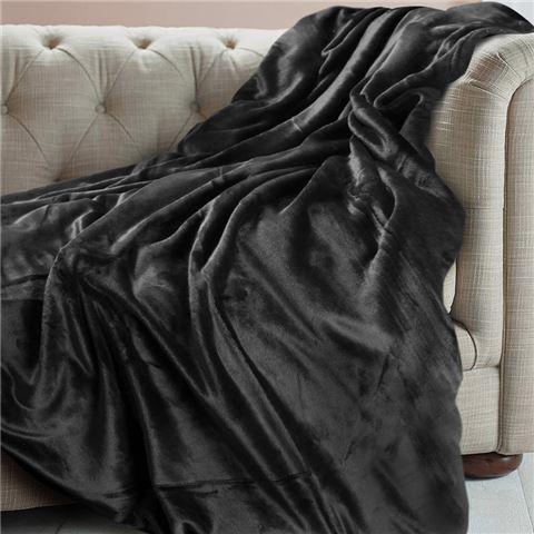 Charcoal Brogo Throw