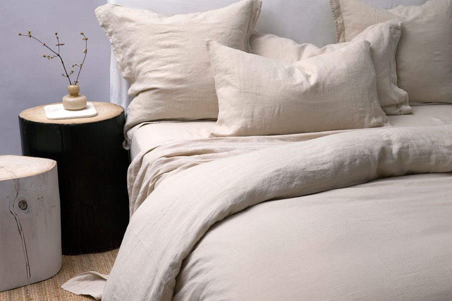 Stone Tailored Pillowcase Pair