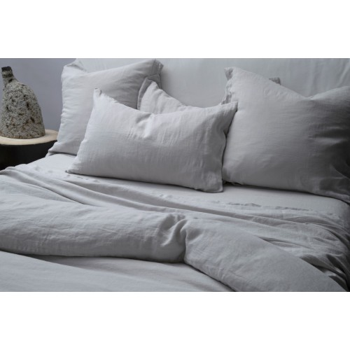 Ash Standard Pillowcase Pair