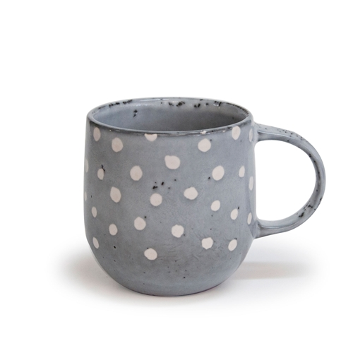 NAOKO Mug 380ml in Polka Grey