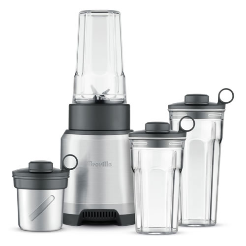 Breville The Boss To Go Plus Blender Stainless Steel