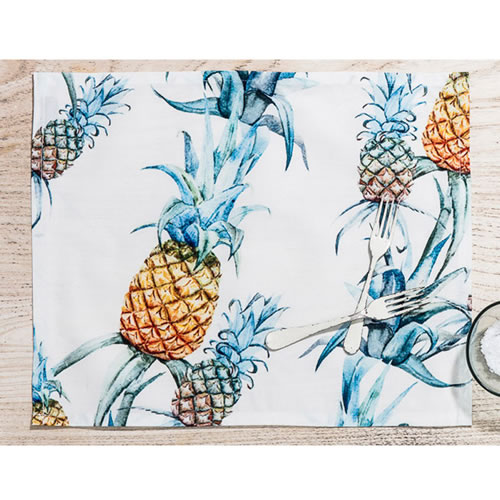 Ananas Rectangle Placemat Set