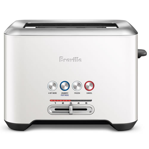 Breville The Lift and Look Pro 2 Slice Toaster Coconut White