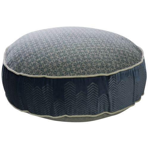 Azure Round Floor Cushion
