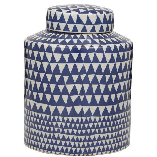 Vitra Jar in Blue and White