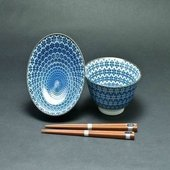 Kessho 2 Bowl and Chopstick Set