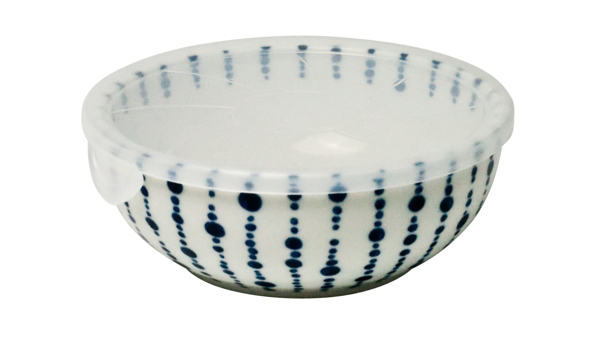 Yokomon Lidded Bowl Medium