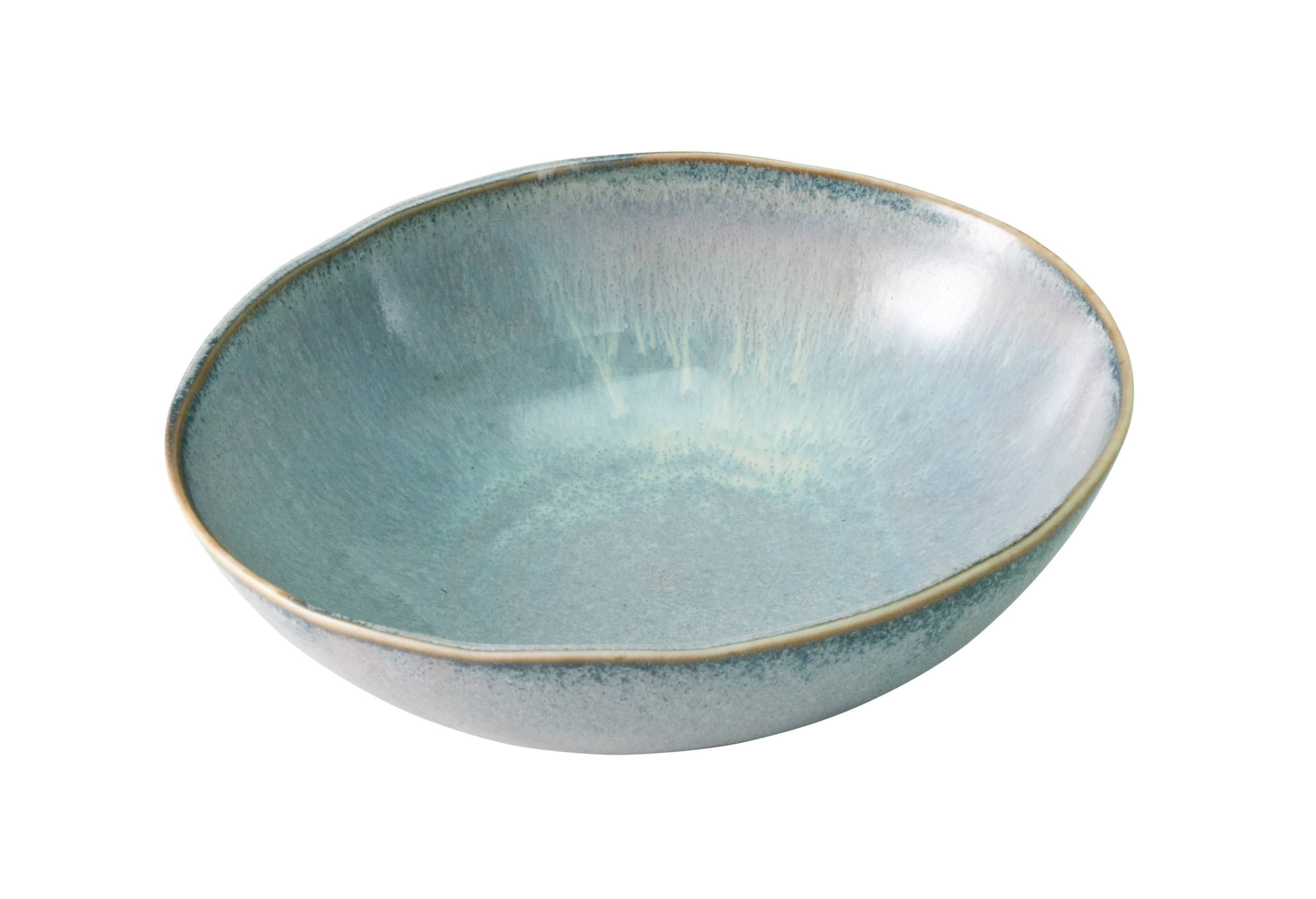 Wabisabi Pearl Blue Large Bowl 25cm