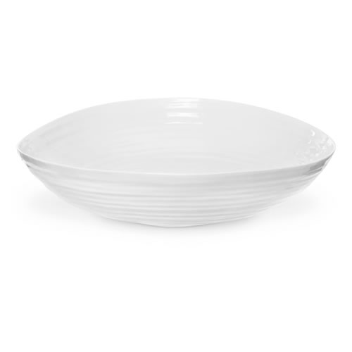 White Statement Bowl 36.5cm