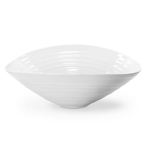 White Salad Bowl 24cm