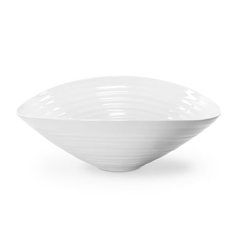 White Salad Bowl 33cm