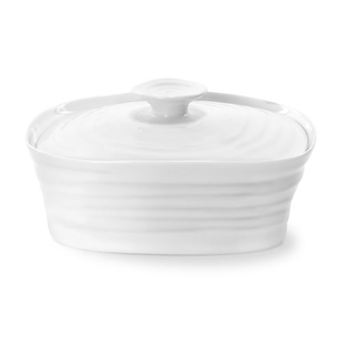 Sophie Conran White Covered Butter Dish