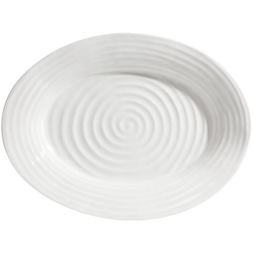 Sophie Conran White Oval Platter 34x43cm