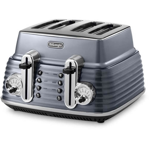 Scultura Toaster Steel Grey in 4 Slice