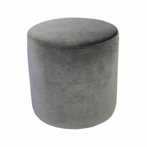 Darcy & Duke Velvet Ottoman Small Christian Grey