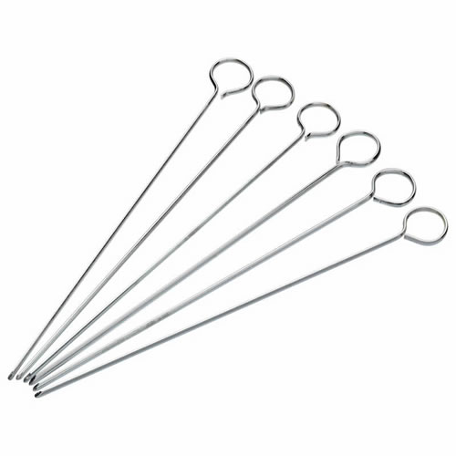 Flat Sided Skewers Set