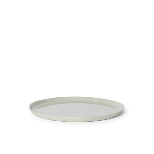 Scoop Dinner Plate in Dust