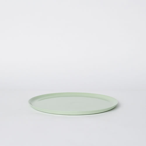 Scoop Dinner Plate in Pistachio