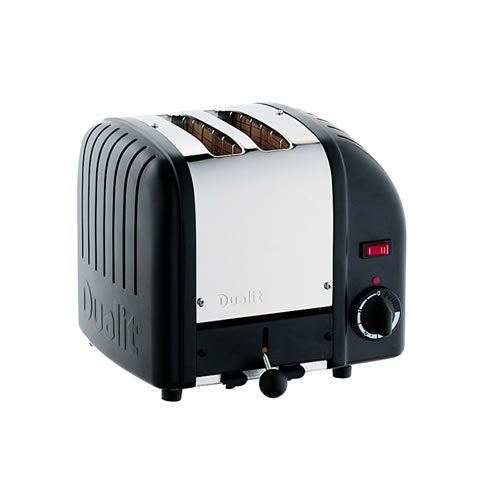 Vario 2 Slice Toaster in Black