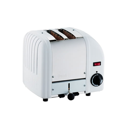 Vario 2 Slice Toaster in White