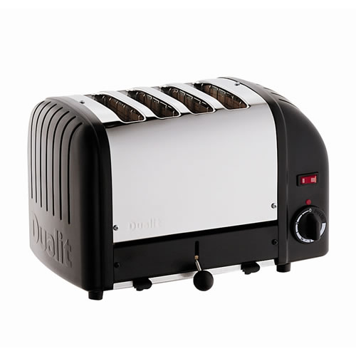 Vario 4 Slice Toaster in Black