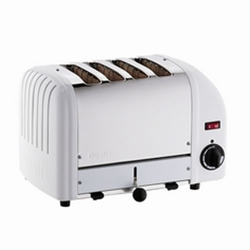 Vario 4 Slice Toaster in White
