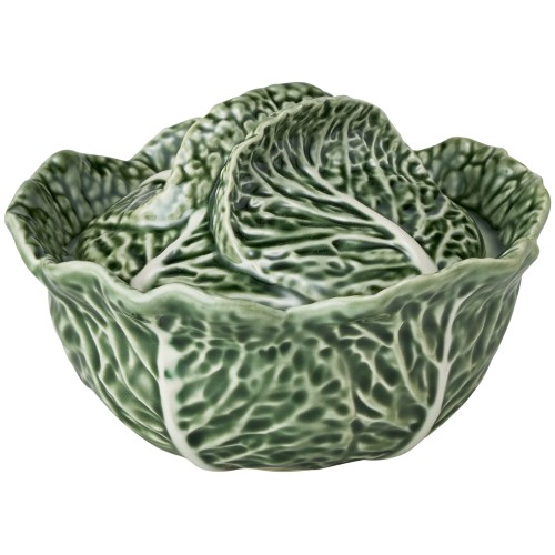 Green Cabbage 400ml Small Tureen