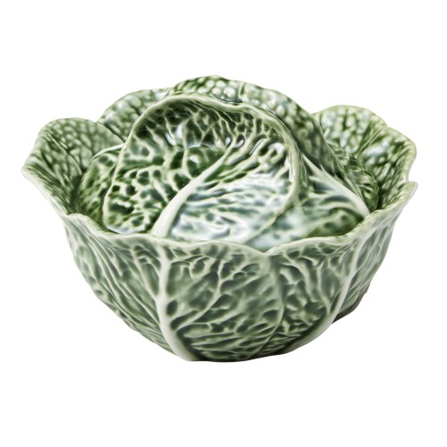 Cabbage Green Condiment Pot
