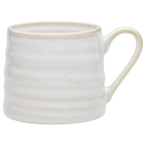 Ecology Franklin Cream Mug 415ml Stoneware Set