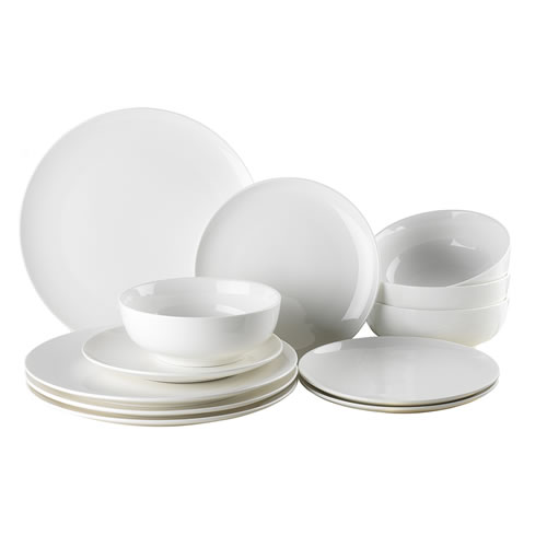 Ecology Coupe 12 Piece Dinner Set