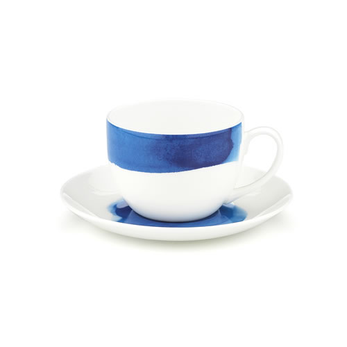Ecology Seasons Water Colour Ocean Bone China Teacup and Saucer