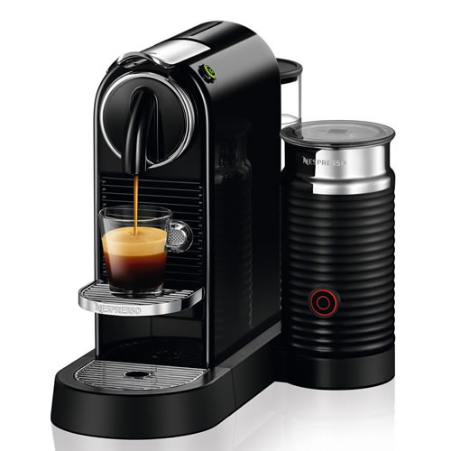 Delonghi  Nespresso Citiz & Milk Coffee Machine Black