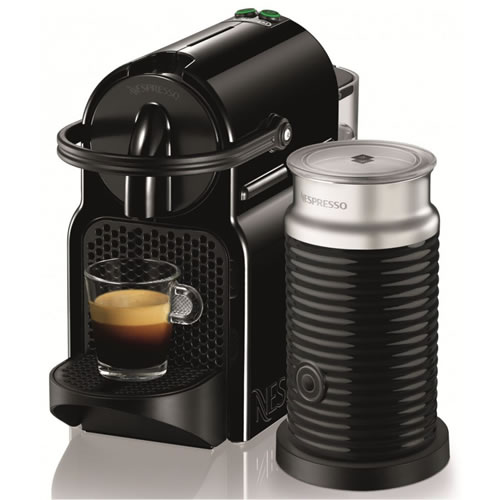 Nespresso Inissia Coffee Machine in Black
