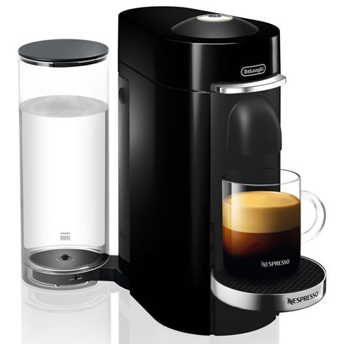 Delonghi Nespresso Vertuo Coffee Machine Black