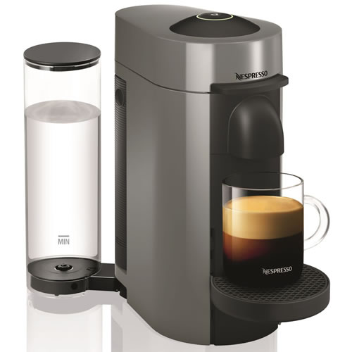 Delonghi Nespresso Vertuo Coffee Machine Titan