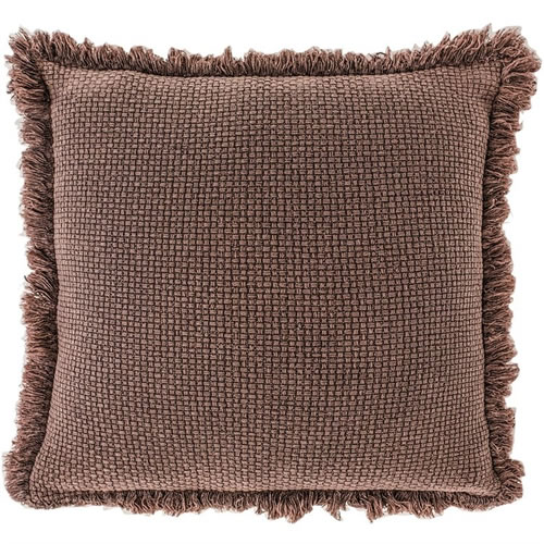 Chelsea Cushion with Fringe Preonze 60x60cm