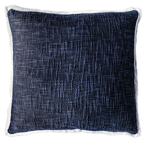 Landscap Cushion Navy White 50x50cm