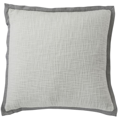 Landscap Cushion White Silver Grey 50x50cm