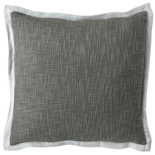 Landscap Cushion Silver Grey White 50x50cm