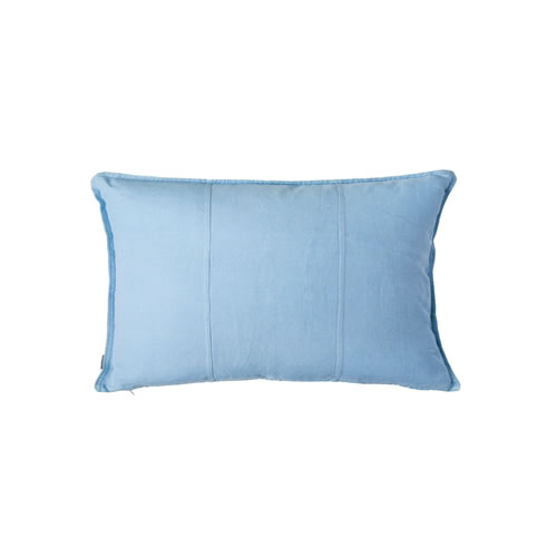 Soft Blue Luca Cushion Linen 40x60cm