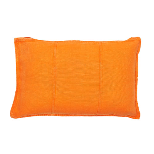 Orange Luca Cushion Linen 40x60cm