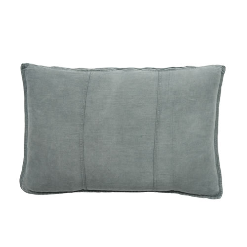 Silver Grey Luca Cushion Linen 40x60cm