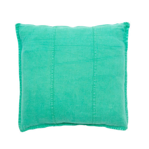 Green Luca Cushion Linen 50x50cm