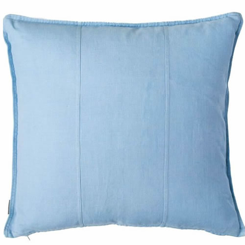 Soft Blue Luca Cushion Linen 50x50cm