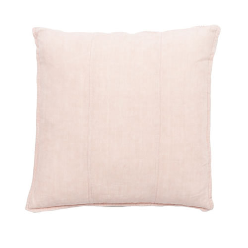 Soft Pink Luca Cushion Linen 50x50cm
