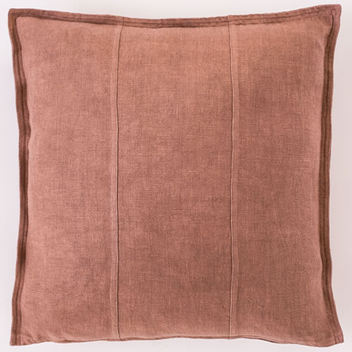 Desert Rose Luca Cushion Linen 50x50cm