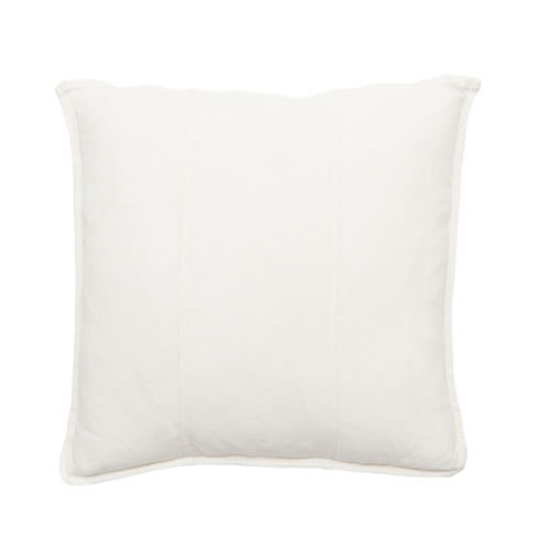 White Luca Cushion Linen 50x50cm