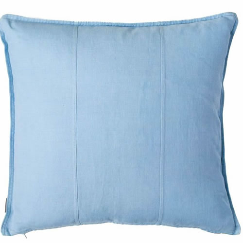 Soft Blue Luca Cushion Linen 60x60cm