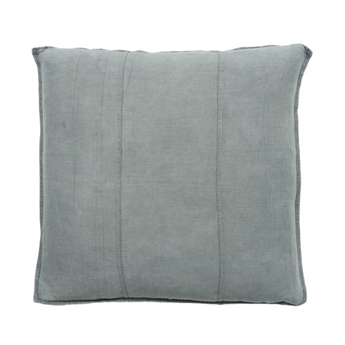 Silver Grey Luca Cushion Linen 60x60cm
